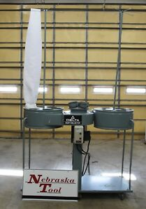 Delta 50 853 Dust Collector 5 Hp 1 Ph 230v 4500 Cfm 12 New Bags
