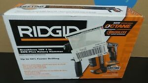 Ridgid R86711b Brushless 18v 1 In Sds plus Rotary Hammer New Sealed E3211