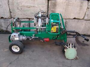 Mcelroy 28hp Pipe Fusion Machine Plastic Welder Up To 2 To 8 Inch Works Great