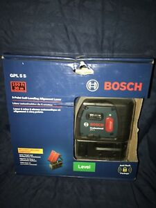 Bosch Professional Gpl 5s 5 point Self leveling Alignment Laser New