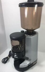 Nuova Simonelli Mdx Commercial Espresso Grinder Tested Working cracked Hopper