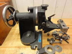 Rare Hill Cutter Radius Grinding Fixture For 3 To 6 Cutters Up To 1 Thick