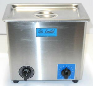 Ultrasonic Bath With Timer And Intensity Setting Ladd Research Me 4 6
