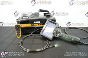 Ge Inspection 6mm 4m Xlg3 Videoscope Flaw Detector Ndt Everest Vit Iplex Geit
