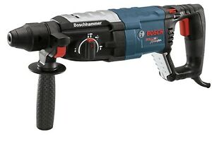 Bosch 8 5 Amp Corded 1 1 8 In Sds plus Variable Speed Rotary Hammer Drill