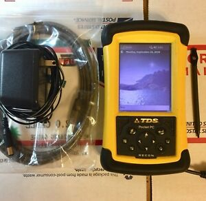 Trimble Tds Recon 400 Survey Data Collector Total Station Gps Robotics Pro