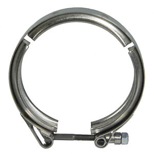 New Oem 03 07 Ford Super Duty 6 0l Turbo Down Pipe Exhaust System V Clamp