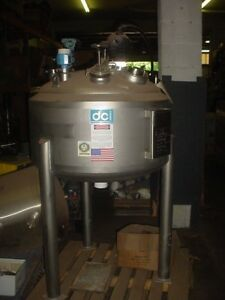 66 Gallon 316l Stainless Steel Pressure Tank 250 Liter Full Vacuum 50 Psi Sale