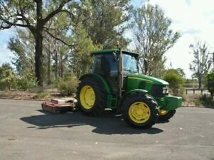Tractor Jd 2010 Jarrett Slasher Serviced Recently John Deere 5080r