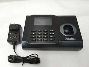 Uattend Bn6500 Wi fi Biometric Fingerprint Time Clock With Wifi Used