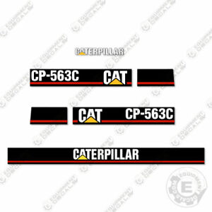 Caterpillar Cs 563 c Vibratory Compactor Decal Kit Equipment Decals Cs563c