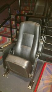 Lot Of 300 Movie Cinema Rocker Chairs Theater Seating Rocking Seats Leatherette