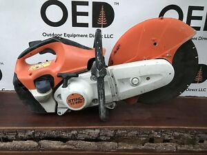 Stihl Ts420 Concrete Cut off Saw W 12 Diamond Tip Blade great Shape