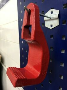 3 Ton Mo clamp Style 1300 Sill Hook Tooth Round Hook Clamp Grip Pull Auto Body