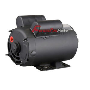 2 Hp Spl 3450 Rpm Compressor Duty Electric Motor 56 Frame 5 8 Shaft 120 240v