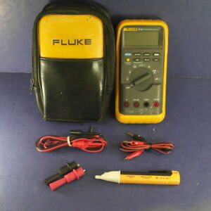 Fluke 87 Iii Trms Multimeter Excellent Screen Protector Case More