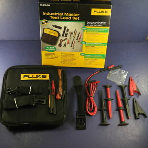 Brand New Fluke Tlk289 Industrial Master Test Lead Set