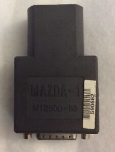 Snap on Mazda 1 Cable Adapter Mt 2500 Mtg 2500 Solus Pro Modis Scanner Scan Tool