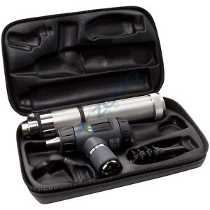 Welch Allyn 3 5v Macroview Otoscope Set With Direct Plug in Handle Hard Case