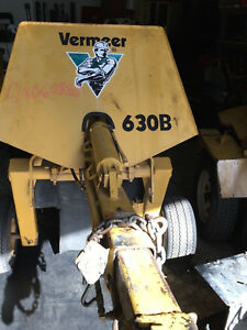 1999 Vermeer Stump Grinder 630b With Only 767 Hours 1 Owner