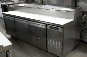 Used 92 Continental Refrigerated Pizza Prep Table