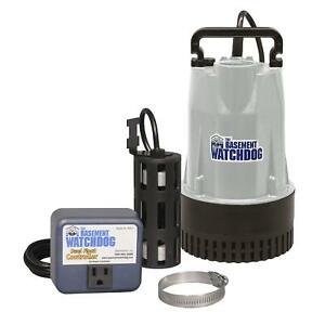 Basement Watchdog Bw1050 Sump Pump 4400 Gallon Per Hour