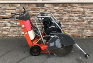 Husqvarna Fs520 Walk Behind Concrete Cut Off Saw Honda Engine Electric Start
