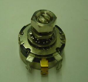 lot Of 100 1k Ohm 43c2 Locking Potentiometer Clarostat Linear Taper Locking