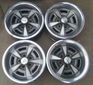 Pontiac Pmc Factory 15 Inch Rally Wheels Rim Ralley Gto Lemans Firebird Trans Am