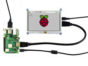 Waveshare 800 480 5inch Tft Display Resistive Touch Screen Hdmi Lcd Raspberry Pi