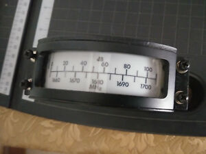 Signal Strenght And Frequency Meter 1655 1705mhz And 0 110 Db