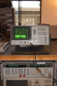 Hp 8562a 9khz 22ghz Spectrum Analyzer With Front Cover Book Some Accessories
