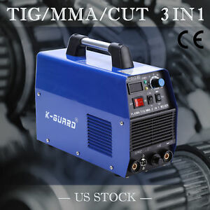 Ct312 Tig mma Welder Plasma Cutter 3 In 1 Welding Machine Accessories