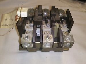Cutler Hammer C300fn3 Overload Relay Exc Cond