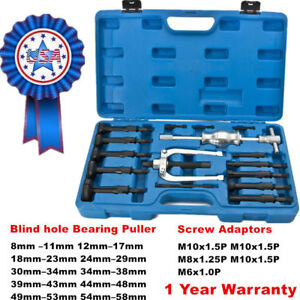 Blind Hole Pilot Internal Extractor Remover Bearing Puller Set Screw Adaptors