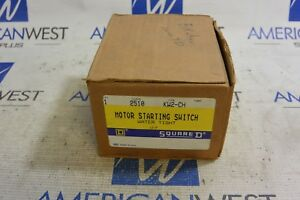 2510kw2 ch Square D Motor Starting Switch New