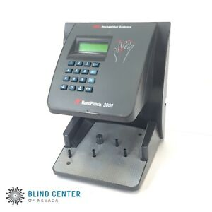 Schlage Handpunch 3000 Biometric Time Attendance Terminal No Power Adapter