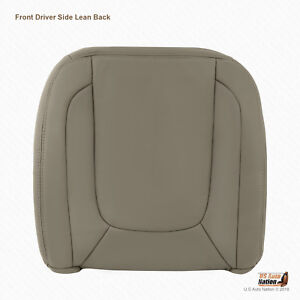 2004 Dodge Ram 1500 2500 3500 Laramie Driver Lean Back Leather Cover Taupe Tan