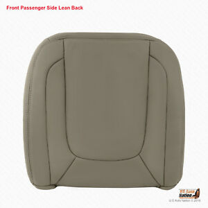 2005 Dodge Ram 1500 2500 3500 Laramie Front Passenger Top Leather Cover Taupe