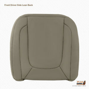 2004 2005 Dodge Ram 1500 Laramie Driver Top Replacement Leather Cover Taupe