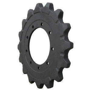 Prowler Takeuchi Tl126 Sprocket Part 08801 66210 Final Drive Undercarriage