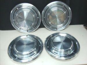 1969 Oldsmobile Olds Cutlass 14 Hubcaps Wheel Covers Set Of 4 F 85 442