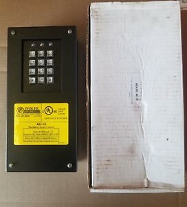 Security Access System Wolfe Guard Model Ac 10 110 Vac