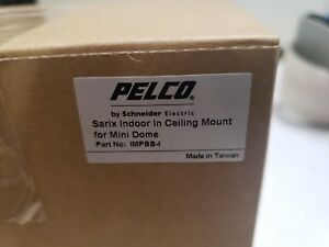 Pelco Impbb i Ip Sarix Pro Back Box Indoor In ceiling Mount Mount Only