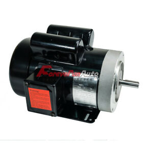 1 5 Hp Electric Motor 56c Single Phase Tefc 115 230 Volt 3450 Rpm New