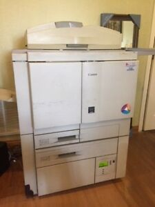 Canon Clc 900 Copier With Fiery Rip Built In Used In Working Condition And Parts