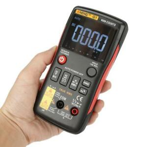Aneng Q1 True rms Digital Multimeter 9999 Counts W analog Bar Ac dc Voltmeter