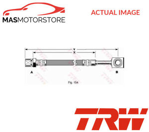 Phd288 Trw Front Left Right Brake Hose Line Pipe I New Oe Replacement
