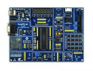 Pic Development Board Easypic 40 Pic16f877a Experiment Develop Learning Board