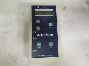 Welch Allyn Oae Hearing Scanner 29400 for Parts